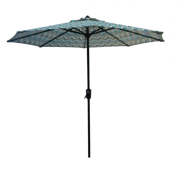 Patio: Setting Your Patio Decoration With Lowes Patio Umbrella Intended For Newest Lowes Patio Umbrellas (View 7 of 15)