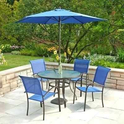 Patio Table Umbrella Hole Ring Set Home Depot – Babyloudmouth Inside Popular Patio Tables With Umbrella Hole (View 7 of 15)