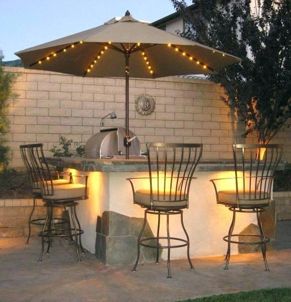 Patio Umbrella Lights Within Most Recently Released Solar Powered Umbrella Light Fashionable Outdoor Umbrella Lights (View 8 of 15)