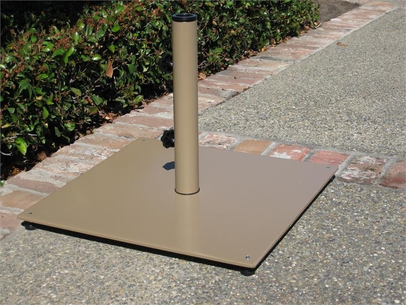 Patio Umbrellas And Bases In Most Up To Date Stylish Patio Umbrella Stands Buy Market Umbrella Base Stands Cheap (View 8 of 15)