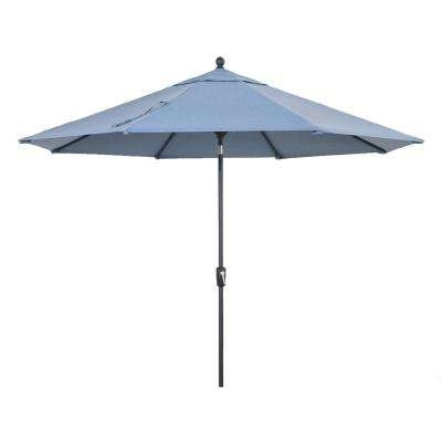 Patio Umbrellas At Home Depot With Regard To Most Recent Home Decorators Collection – Patio Umbrellas – Patio Furniture – The (View 12 of 15)