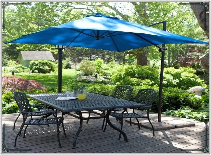 Patio Umbrellas At Walmart Enhance First Impression » Melissal Gill Throughout Well Known Sunbrella Patio Umbrellas At Walmart (View 1 of 15)