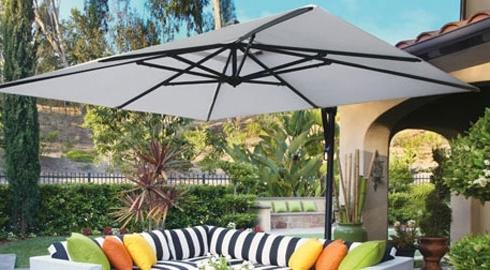 Patio Umbrellas – Commercial/residential Outdoor Umbrellas Orange For Favorite Patio Deck Umbrellas (View 9 of 15)