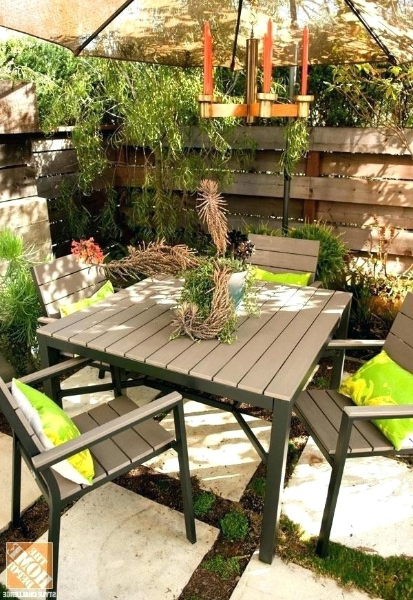 Patio Umbrellas For Small Spaces In Most Up To Date Patio Furniture For Small Spaces Space Sale – Dhoomproduction (View 5 of 15)