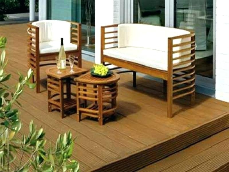 Patio Umbrellas For Small Spaces Throughout 2017 Small Patio Furniture Sets Narrow Patio Table Or Small Space Outdoor (View 13 of 15)