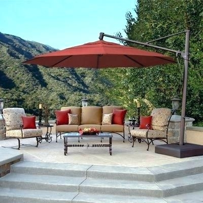 Patio Umbrellas For Tables Within Widely Used Umbrellas For Tables With Stand Side Tables Outside Table Umbrella (View 10 of 15)