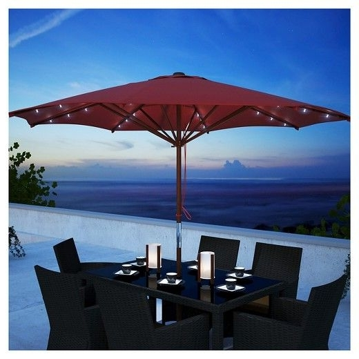 Featured Photo of Solar Patio Umbrellas