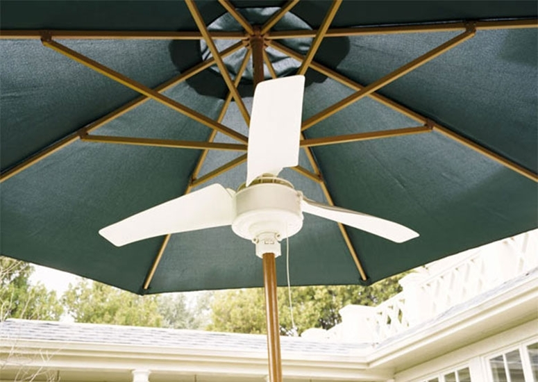 Featured Photo of Patio Umbrellas With Fans