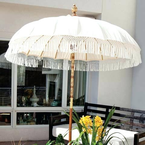 Patio Umbrellas With Fringe With Regard To Most Popular Patio Umbrella With Fringe Market – Marcstan (View 12 of 15)