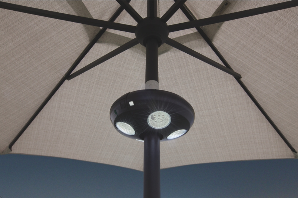 Patio Umbrellas With Led Lights Regarding Most Recently Released Patio Umbrella Lights (View 9 of 15)