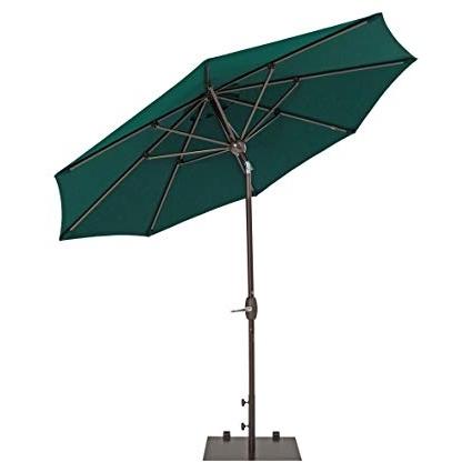 Patio Umbrellas With Sunbrella Fabric Pertaining To Widely Used Amazon : Trueshade Plus Patio Umbrella Market Outdoor Umbrella (View 8 of 15)