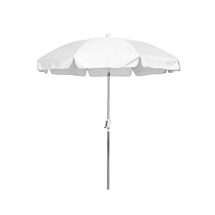 Patio Umbrellas With Valance Within Recent Amazon : California Umbrella  (View 12 of 15)