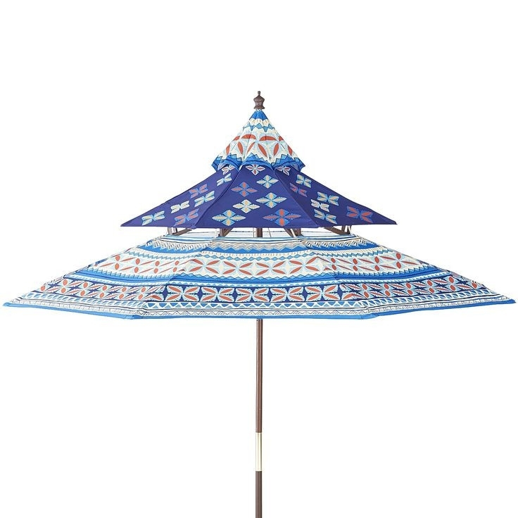 Patterned Patio Umbrellas With Newest 20 About Patterned Patio Umbrellas New (View 15 of 15)