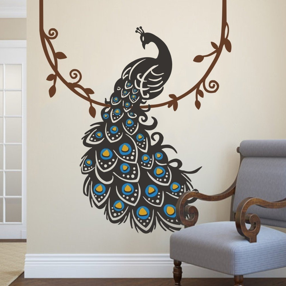 Peacock Wall Art Superb Peacock Wall Decor – Wall Decoration Ideas Throughout Well Known Peacock Wall Art (View 12 of 15)