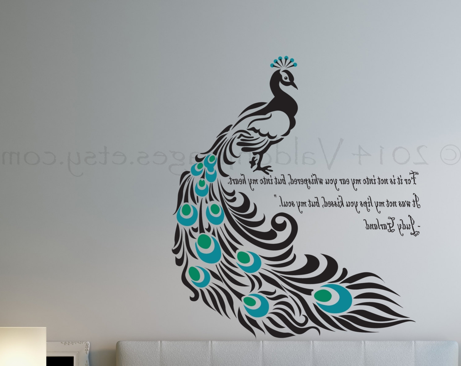 Peacock Wall Decal Epic Peacock Wall Art – Wall Decoration Ideas Throughout Famous Peacock Wall Art (View 9 of 15)