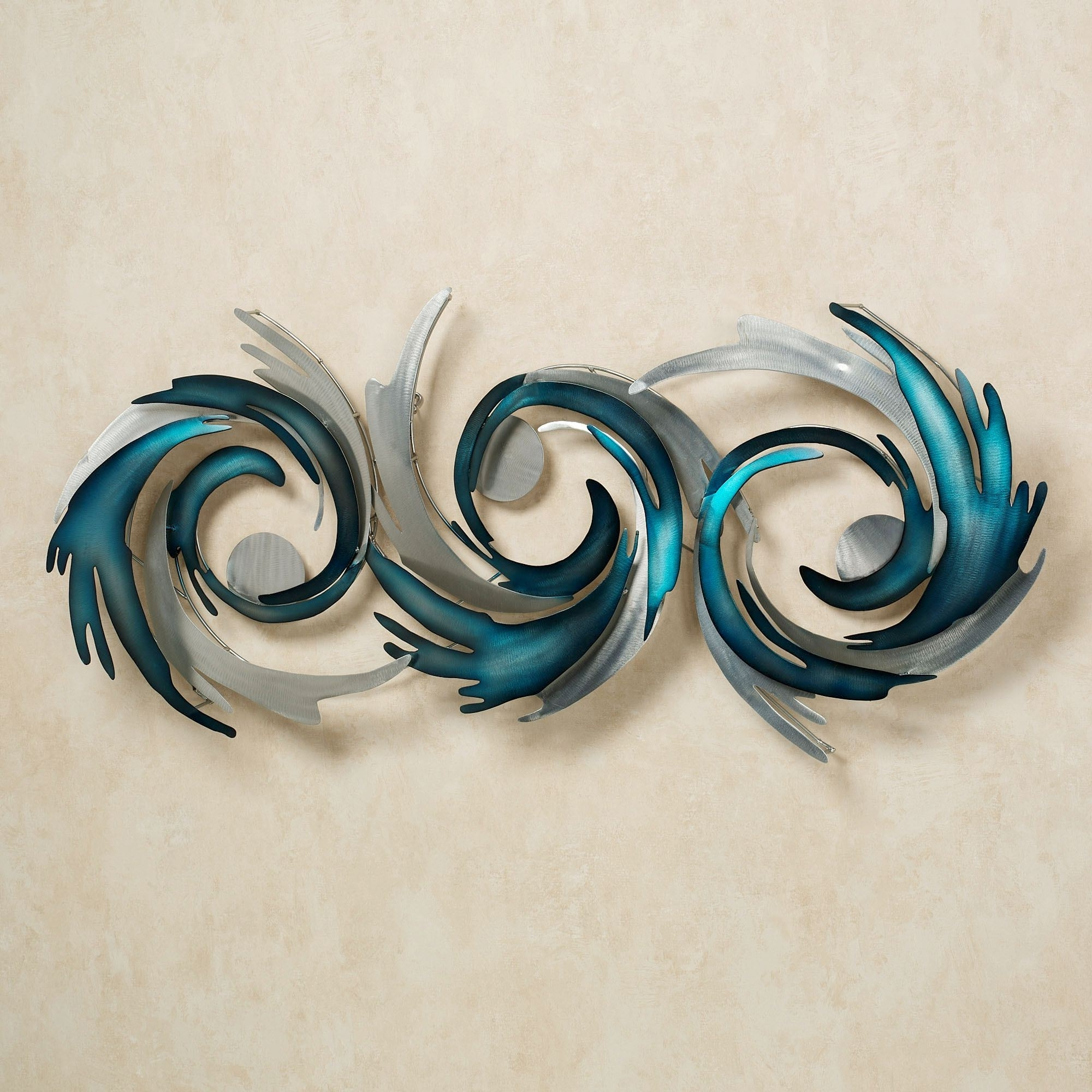 Perfect Storm Metal Wall Sculpturejasonw Studios For Most Up To Date Touch Of Class Wall Art (View 6 of 15)
