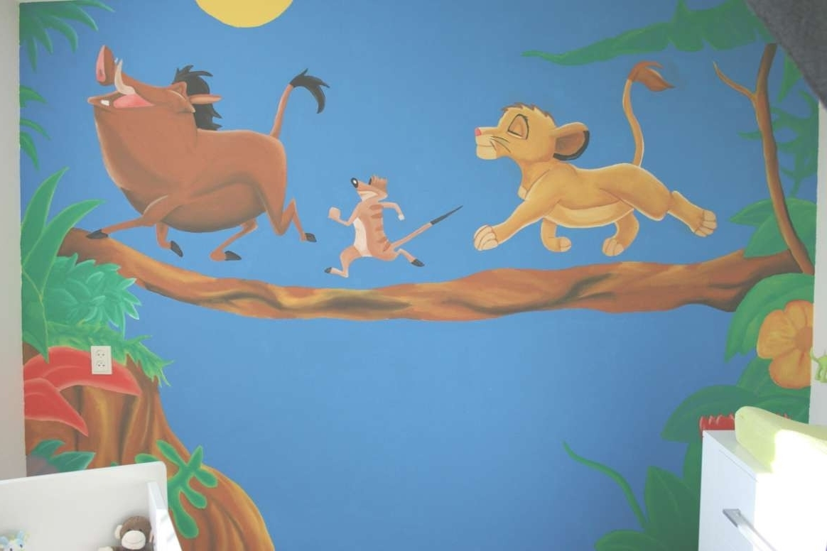 Photo Gallery Of Lion King Wall Art Viewing 1 12 Photos Picturesque In Popular Lion King Wall Art (View 2 of 15)