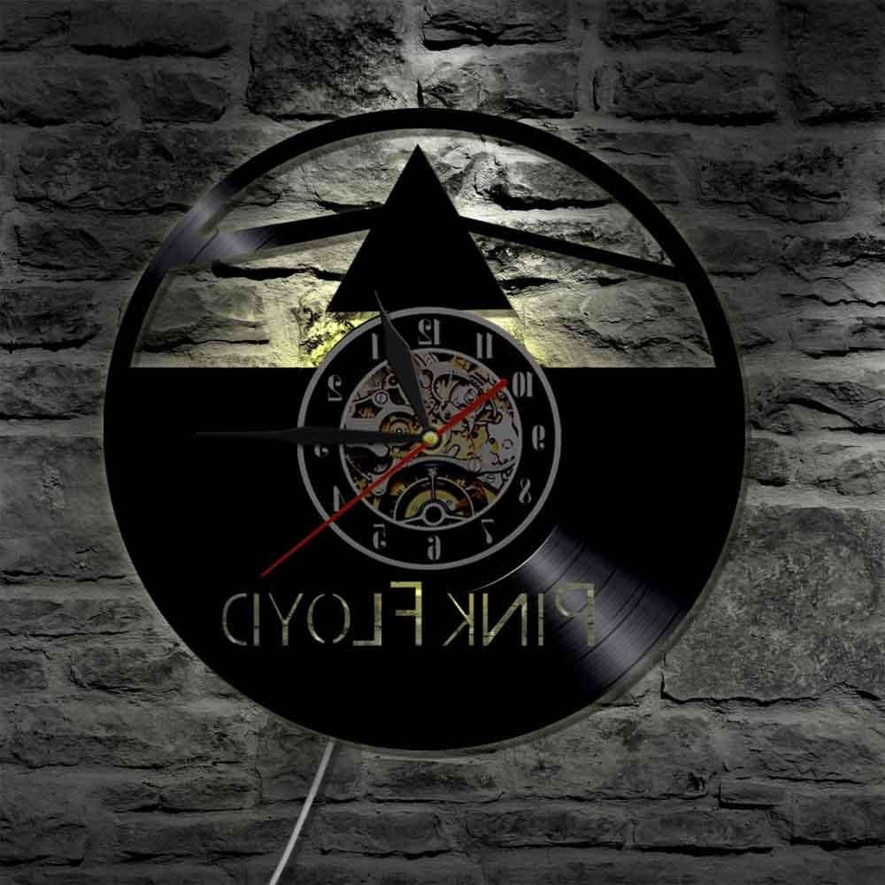 Pink Floyd The Wall Art For 2017 Music Group Pink Floyd Wall Art Decorative Make From Vinyl Record (View 15 of 15)
