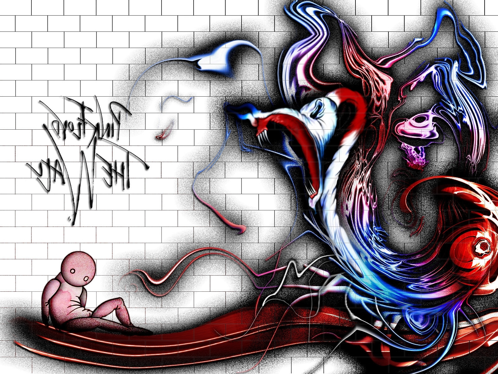 Pink' Floyd – The Wallemrat On Deviantart Intended For 2017 Pink Floyd The Wall Art (View 12 of 15)
