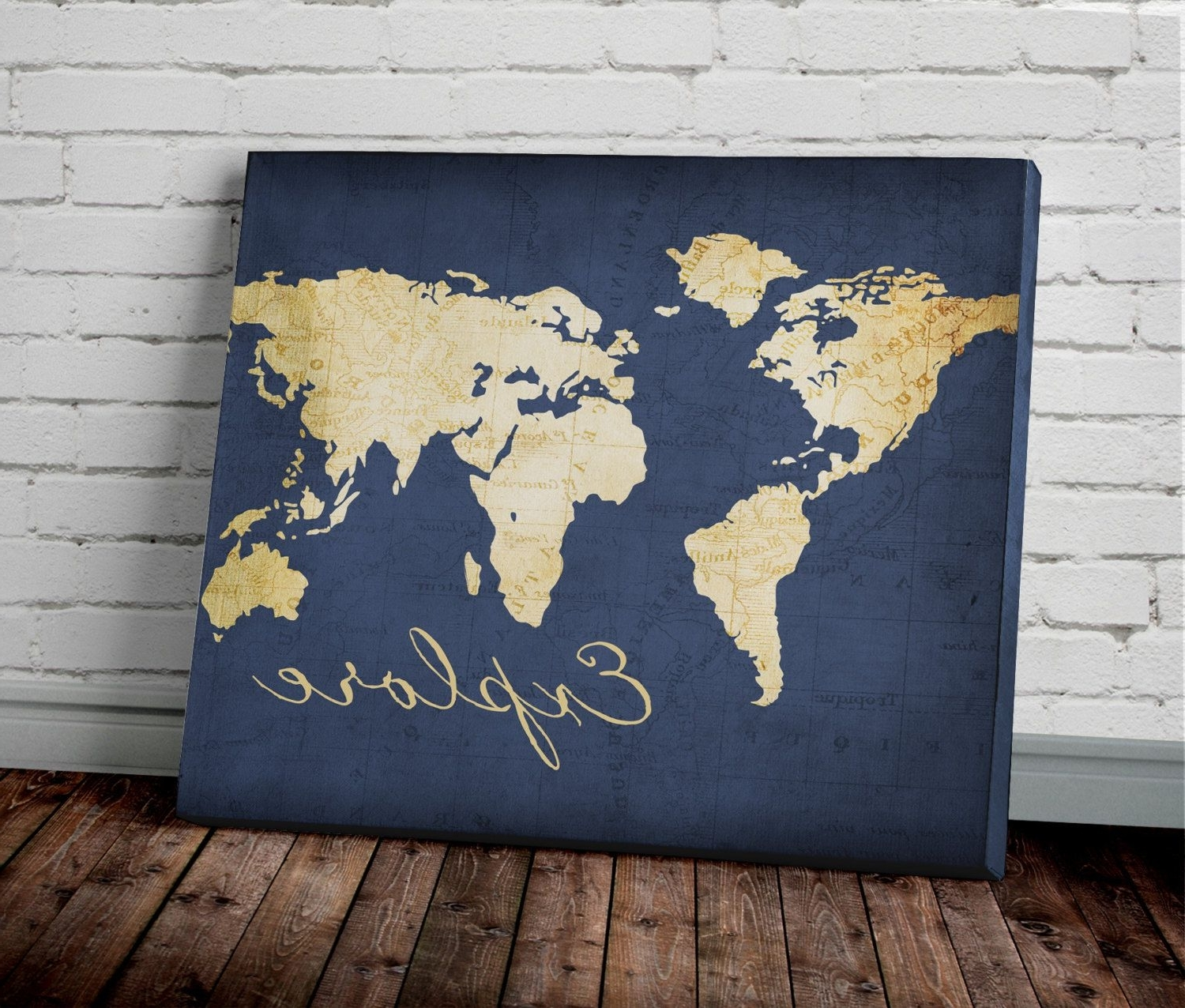 Pinterest Throughout World Map Wall Art Canvas (View 5 of 15)