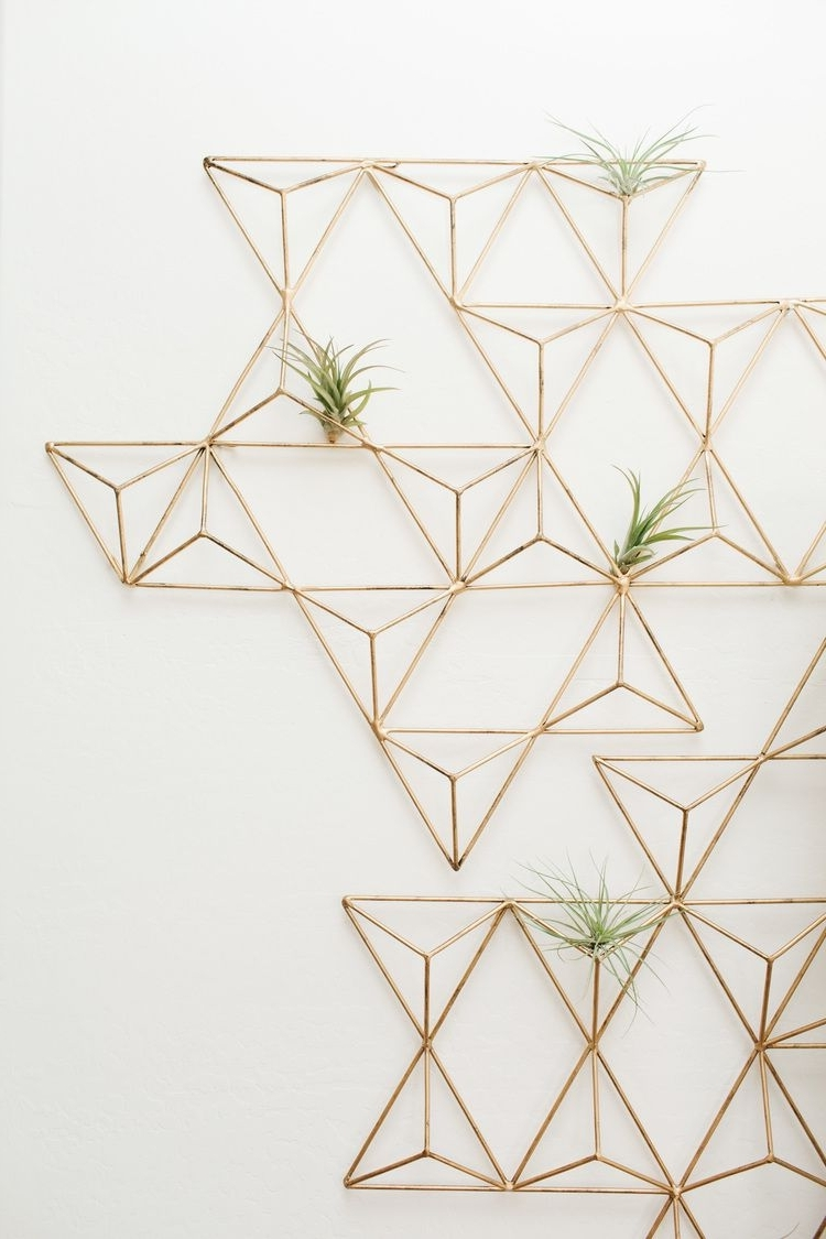 Featured Photo of Geometric Metal Wall Art