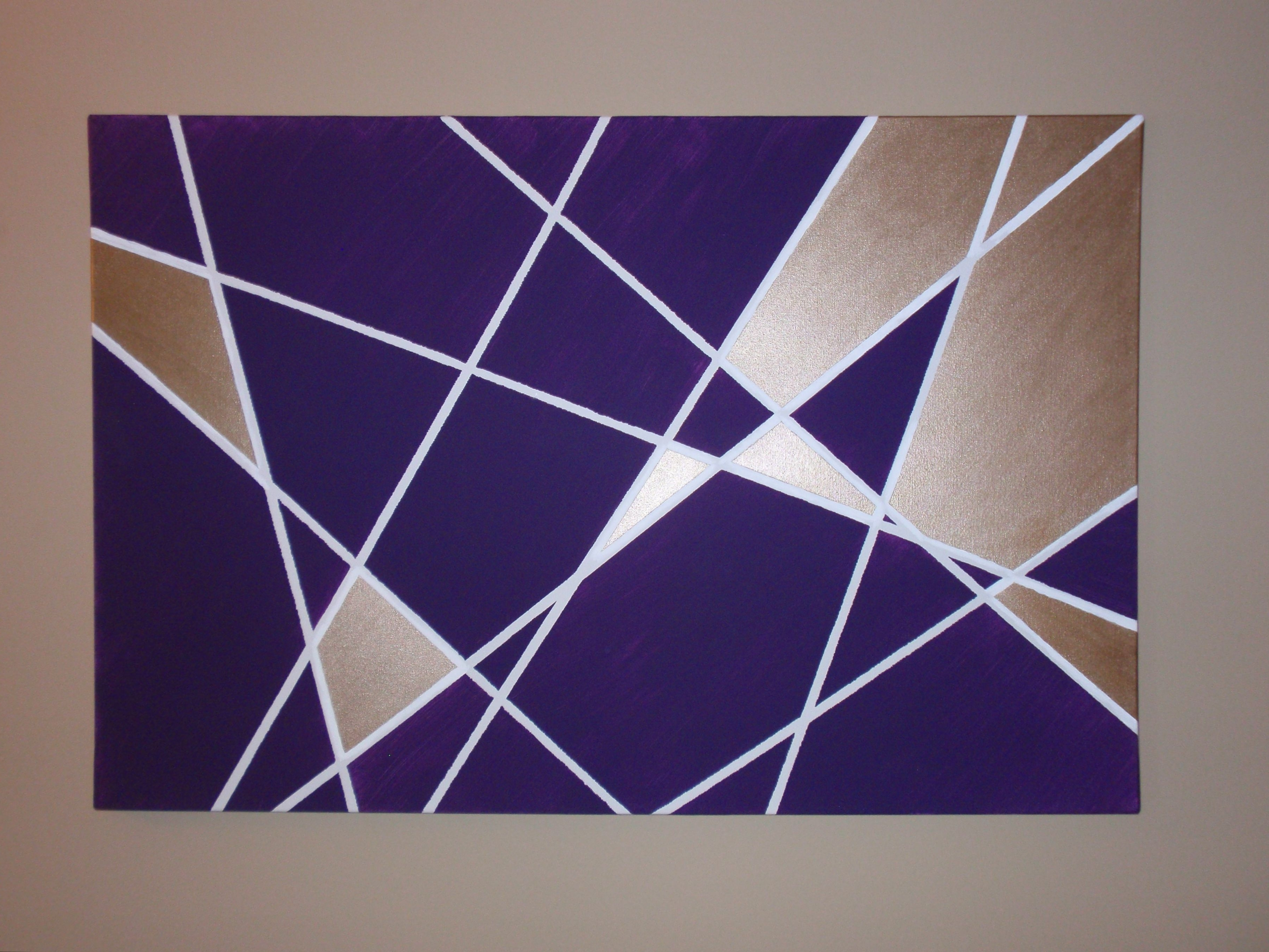 Pinterest Within Most Up To Date Geometric Wall Art (View 4 of 15)