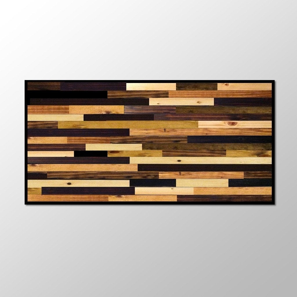 Plank Wall Art With Regard To Famous Wood Plank Wall Hanging Wood Plank Wall Art – Wall Art Ideas (View 13 of 15)