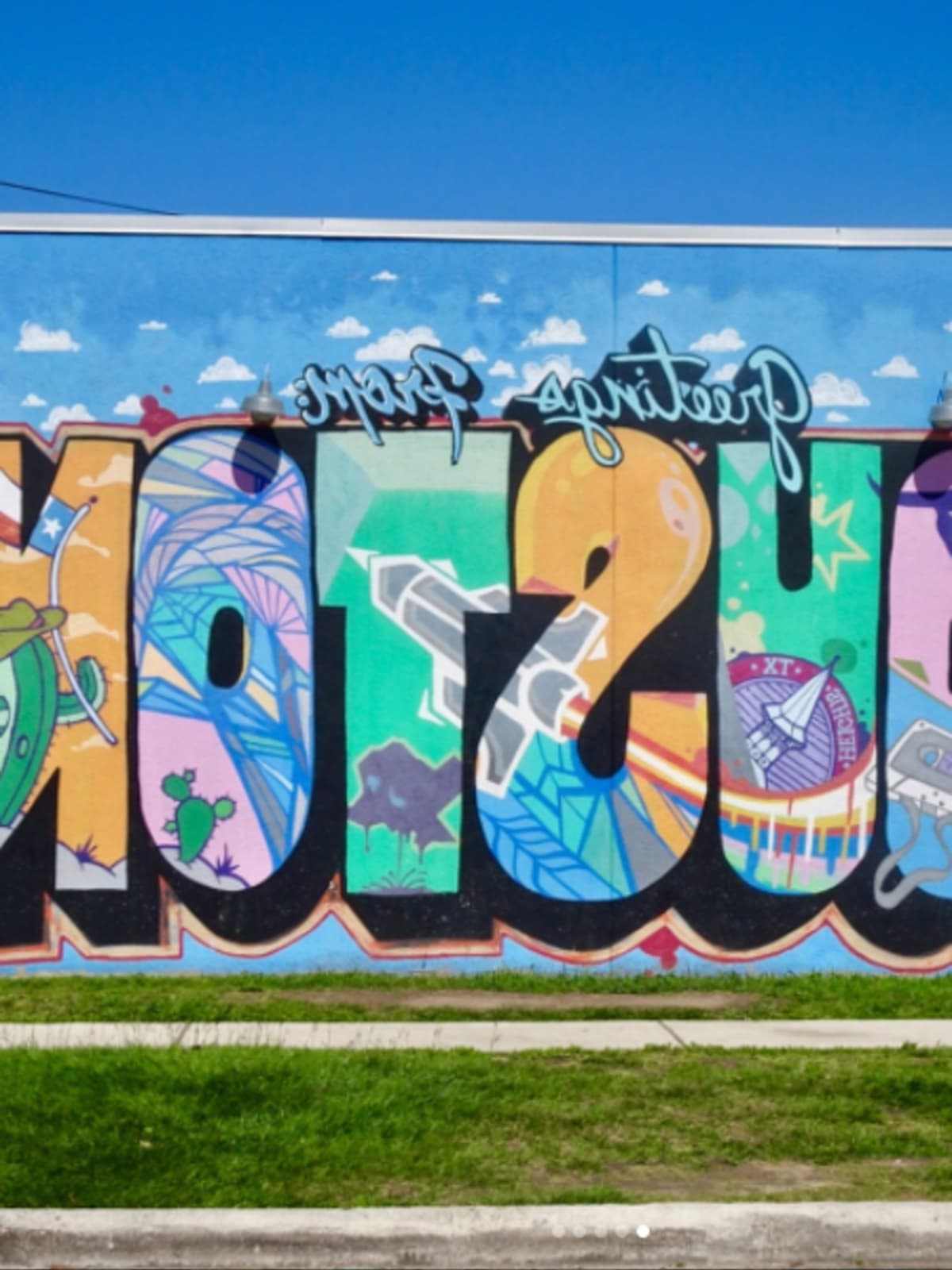 Pleasant Houston Wall Art Street 15 Murals That Make The Perfect For Fashionable Houston Wall Art (View 11 of 15)