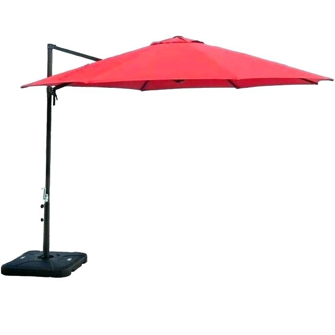 Pool Umbrella Stand Square Umbrella Stand Free Standing Patio Within Newest Jewel Patio Umbrellas (View 8 of 15)