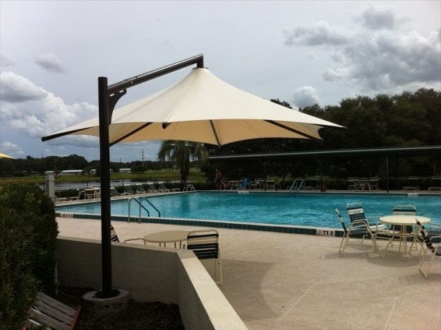 Pool Umbrellas Patio Shade Commercial Patio Umbrellas Worthy Product With Regard To Latest Commercial Patio Umbrellas (View 10 of 15)