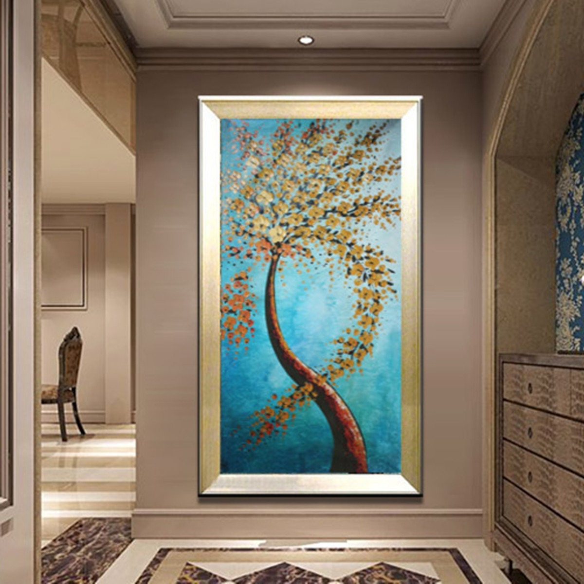 Popular 120X60Cm Modern Abstract Huge Wall Art Painting On Canvas Not Framed In Huge Wall Art (View 7 of 15)