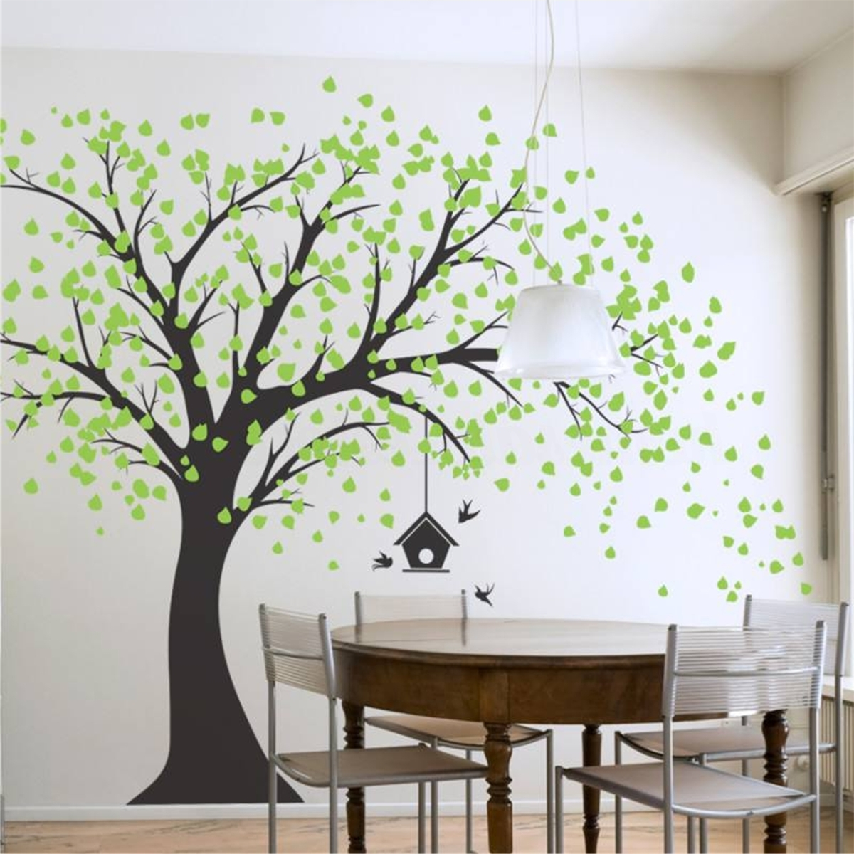 Popular 210Cmx180Cm Diy Tree Wall Paper Art Wall Sticker Home Bedroom Bbay Intended For Wall Tree Art (View 7 of 15)