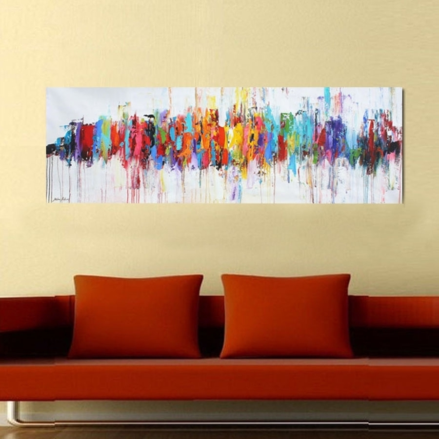 Popular Abstract Oil Paintings On Canvas Top 15 Of Abstract Oil Painting Inside Abstract Oil Painting Wall Art (View 5 of 15)