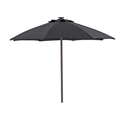 Popular Amazon : Sorara Outdoor 9 Ft Patio Umbrella Sunbrella Canopy Inside Sunbrella Patio Umbrellas With Solar Lights (View 5 of 15)