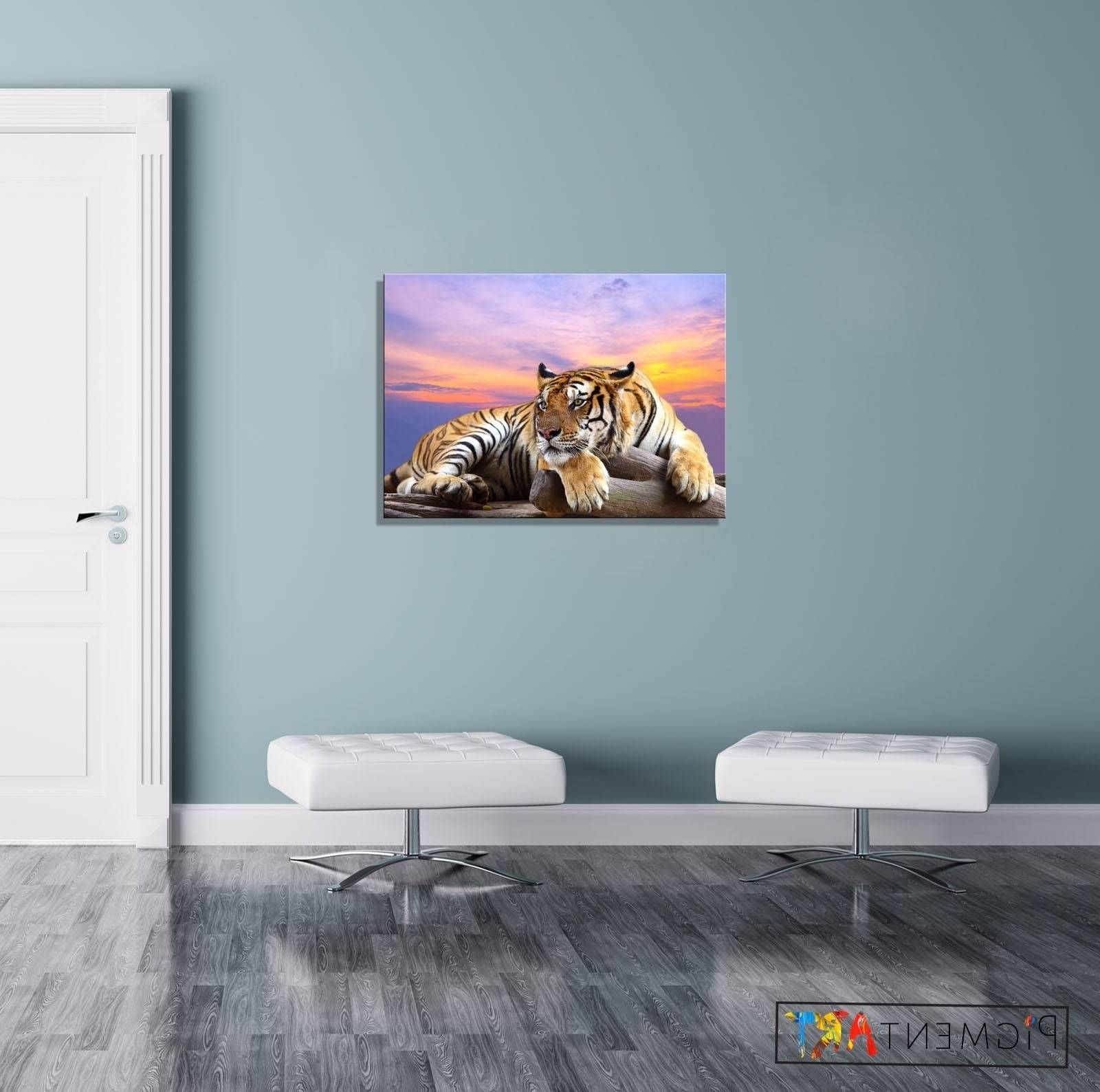 Popular Animal Canvas Wall Art In Best Photos Of Animal Canvas Wall Art Showing Trends And Styles (View 4 of 15)