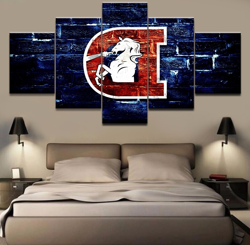 Popular Broncos Wall Art Rs (View 4 of 15)