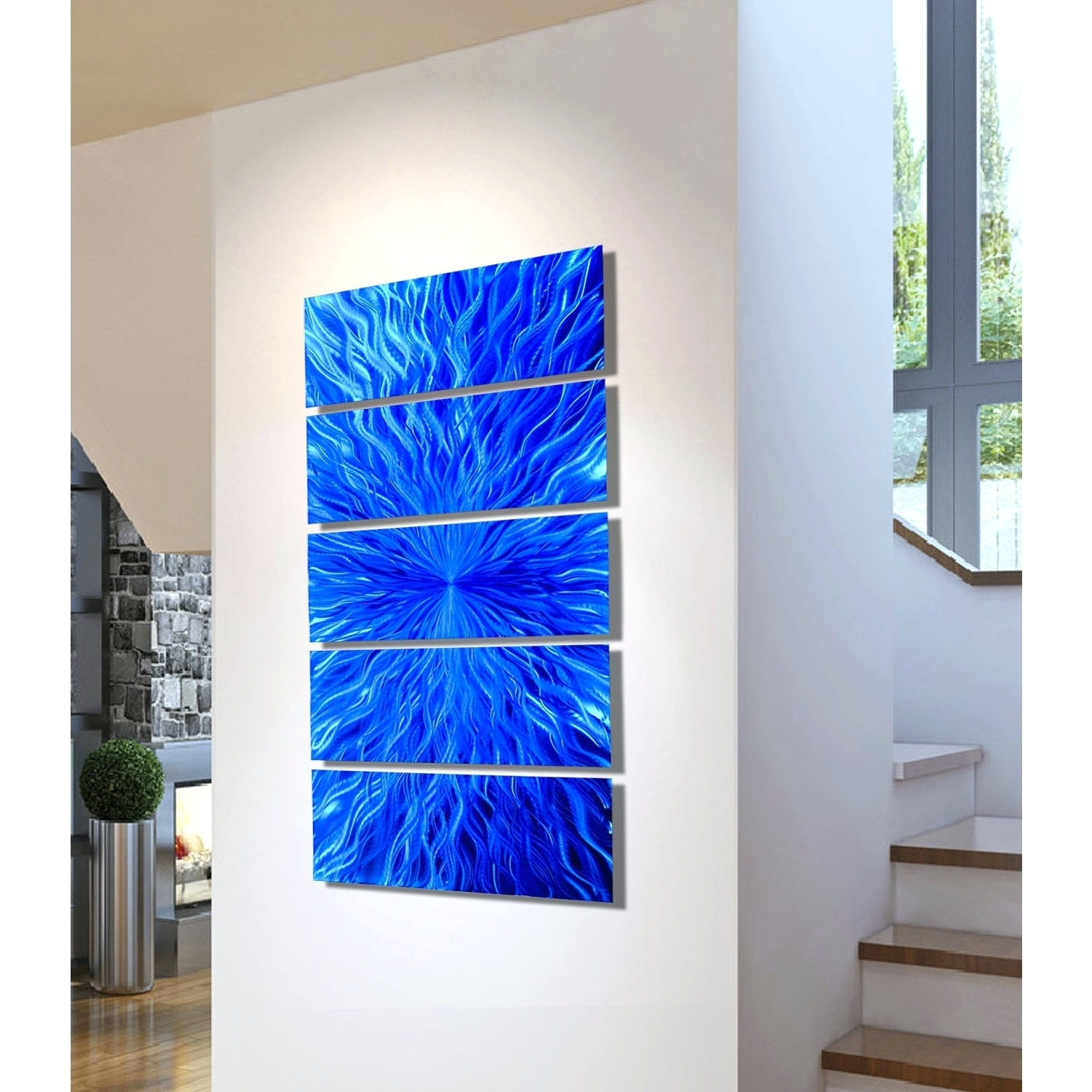 Popular Contemporary Fused Gl Cute Blown Glass Wall Art – Wall Decoration Ideas Pertaining To Blown Glass Wall Art (View 2 of 15)