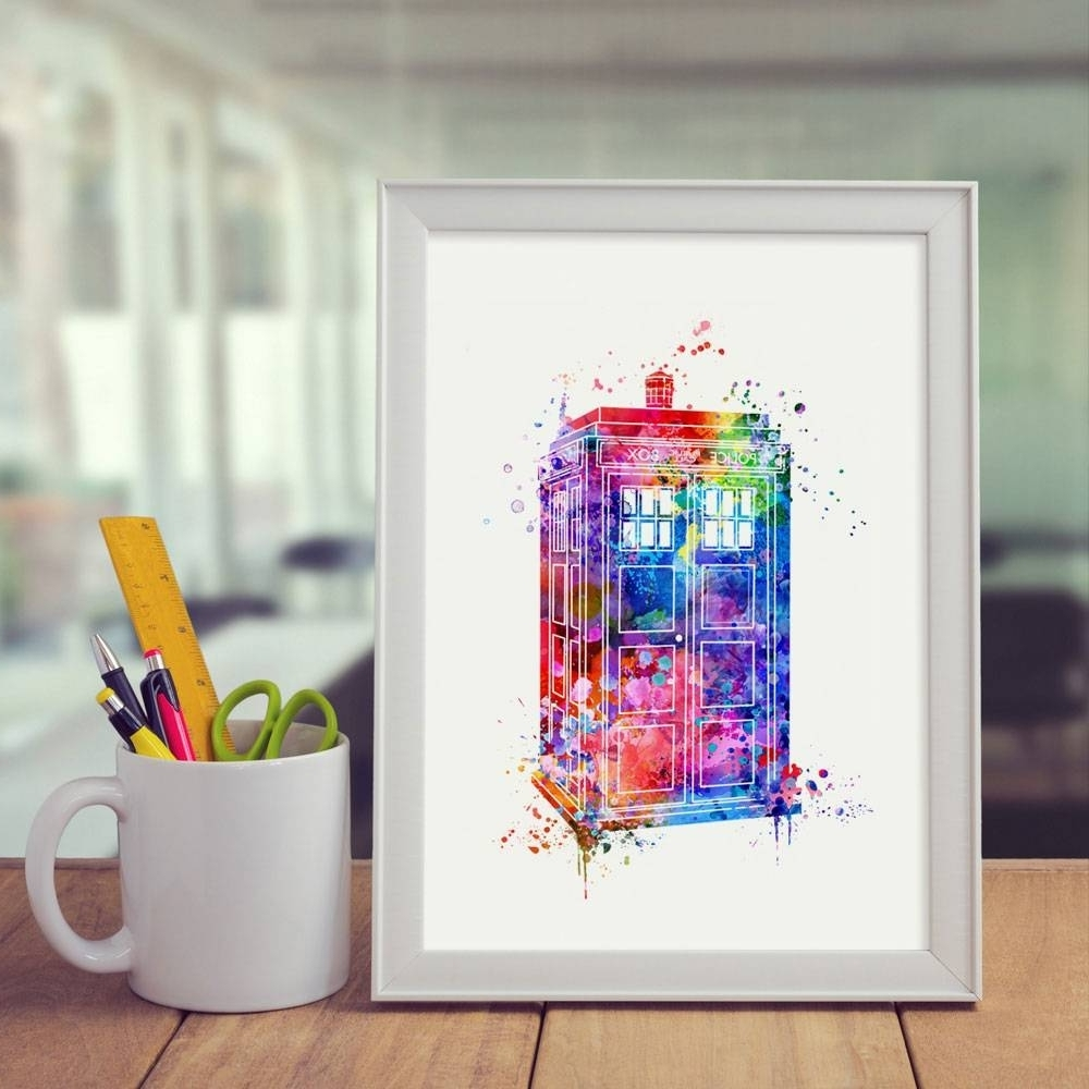 Popular Doctor Who Wall Art Throughout The Best Doctor Who Wall Art, Doctor Who Wall Art – Swinki Morskie (View 6 of 15)