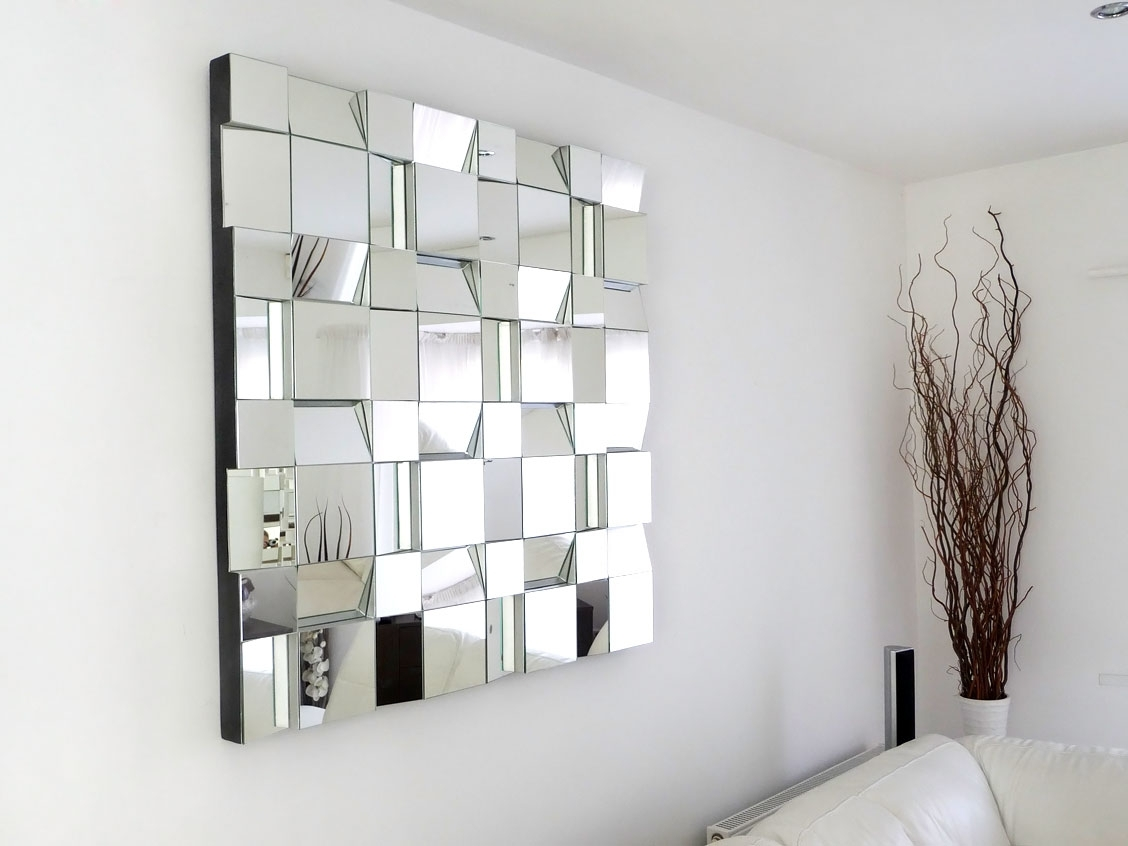 Popular Fantastic Wall Decor Mirrors — Inside Houses Within Mirror Wall Art (View 13 of 15)