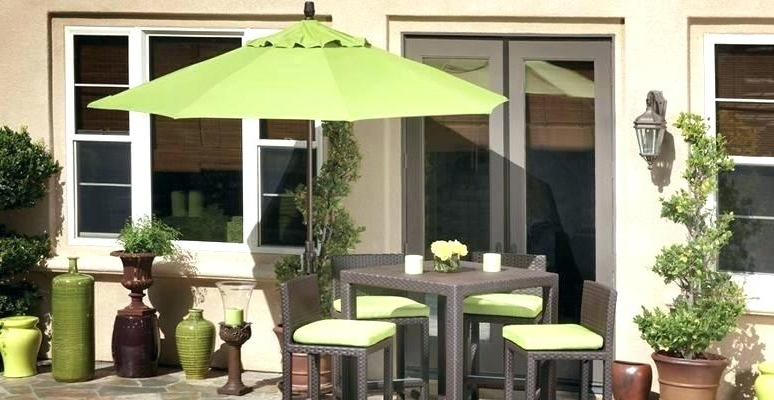 Popular Green Patio Umbrellas Regarding Dark Green Patio Umbrella – Reymbaguio (View 12 of 15)