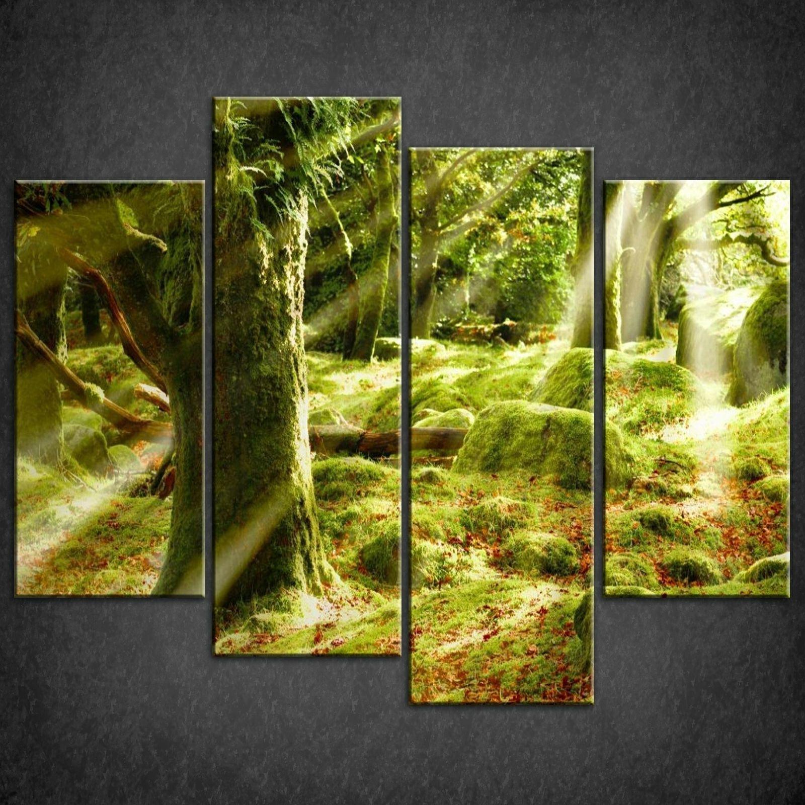 Popular Green Wall Art Canvas – Newstle In Green Wall Art (View 8 of 15)