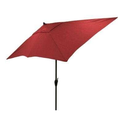 Popular Market Umbrellas – Patio Umbrellas – The Home Depot Intended For Tilting Patio Umbrellas (View 13 of 15)