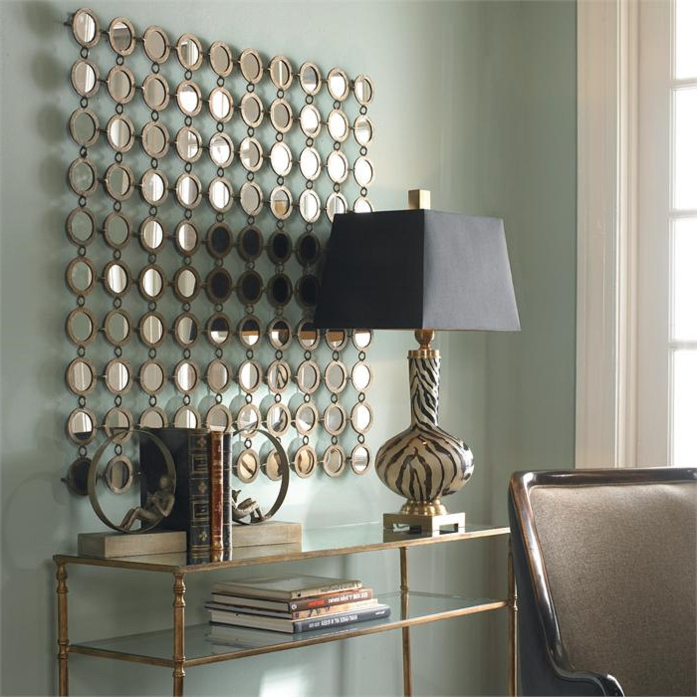 Popular Mirror Wall Decor : Metal Mirror Wall Decor – Jeffsbakery For Well Known Mirrored Wall Art (View 12 of 15)