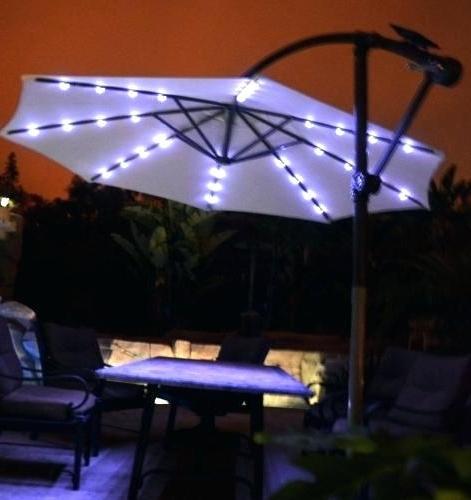 Popular Solar Powered Patio Umbrellas For Solar Powered Umbrella Light – Buyglysonna (View 12 of 15)