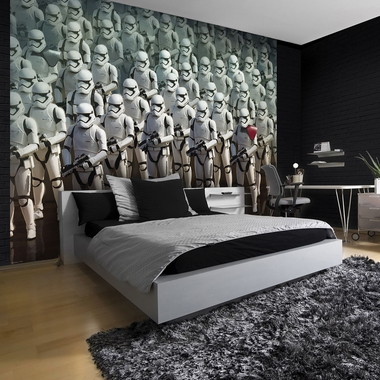 Popular Star Wars Wall Art With Regard To Star Wars Wall Art Bedroom : Andrews Living Arts – Fantastic Room (View 5 of 15)