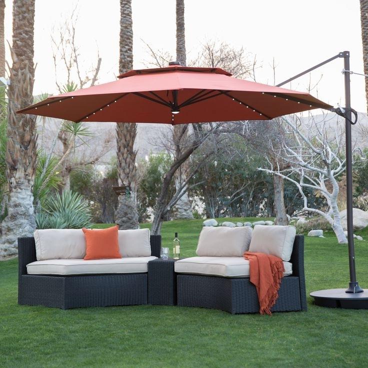 Popular Sunbrella Outdoor Patio Umbrellas Throughout Outside Patio Umbrellas Garden Umbrella Outdoor Deck Ideas Large (View 8 of 15)