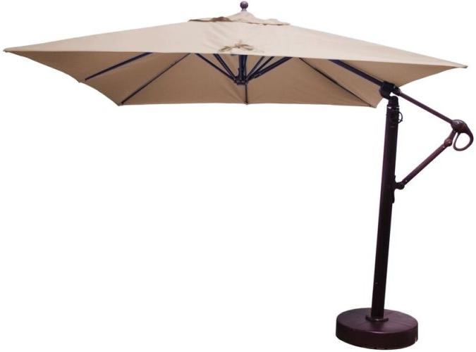 Popular Sunbrella Patio Umbrella With Regard To Sunbrella Patio Umbrellas (View 5 of 15)