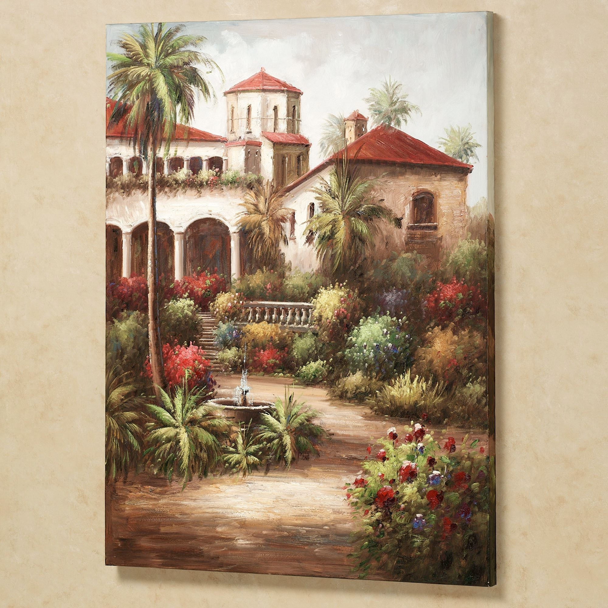 Popular Tuscan Wall Art Garden – Awesome House : Kitchen Tuscan Wall Art Tile With Regard To Tuscan Wall Art (View 3 of 15)