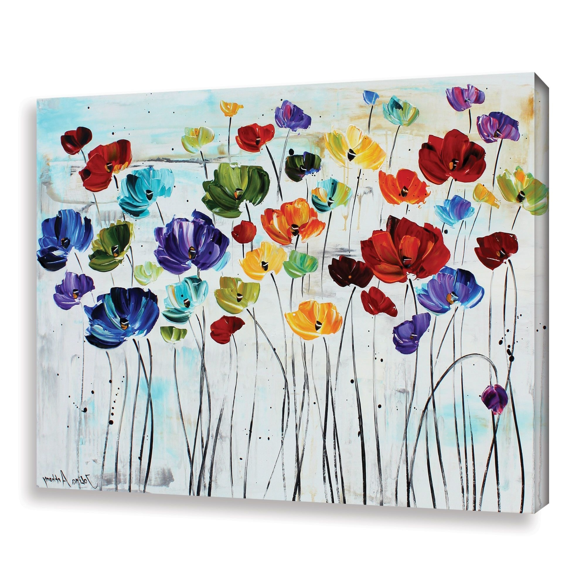 Popular Wayfair Wall Art With Regard To Charlton Home 'spring Colors' Canvas Print & Reviews (View 10 of 15)