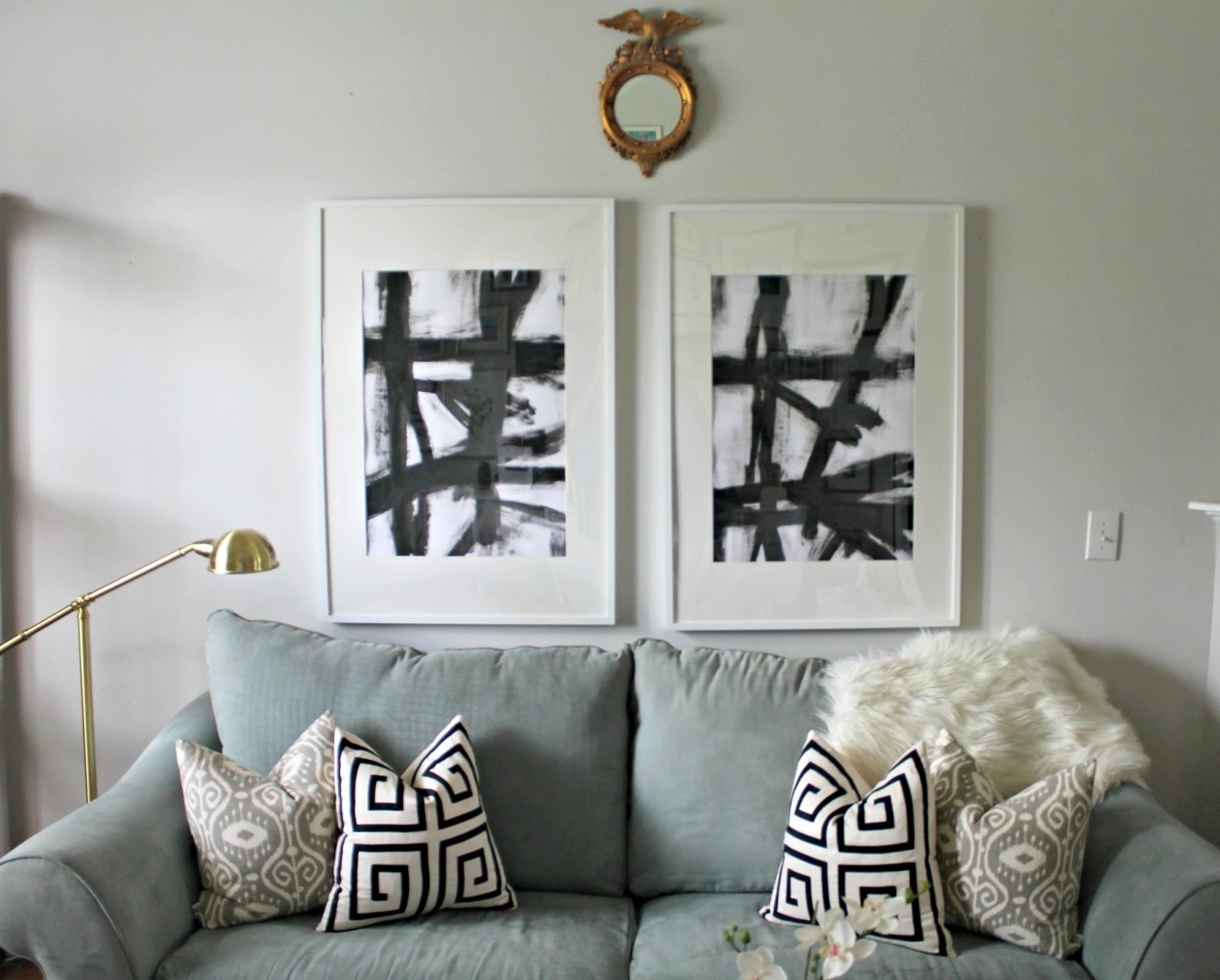 Popular West Elm Abstract Art Displaying Gallery Of West Elm Abstract Wall Pertaining To West Elm Wall Art (View 8 of 15)